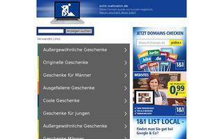 echt-wahnsinn.de Webseiten Screenshot