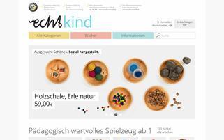 Echtkind Webseiten Screenshot