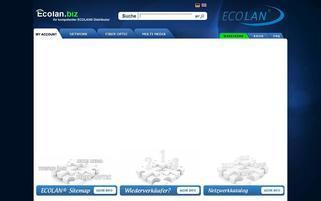 ecolan.biz Webseiten Screenshot