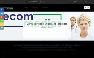 ecommedics Webseiten Screenshot