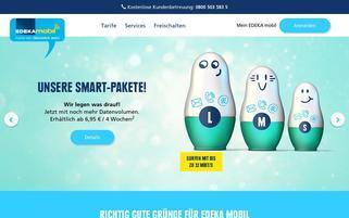 EDEKA mobil Webseiten Screenshot