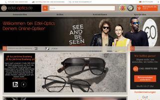 Edel Optics Webseiten Screenshot