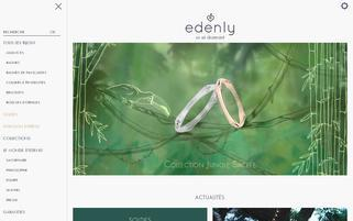 Edenly Webseiten Screenshot