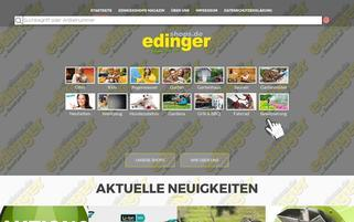 Edinger Webseiten Screenshot