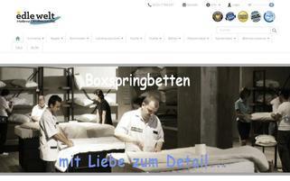 Edle Welt Webseiten Screenshot