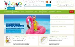 Edumero Webseiten Screenshot