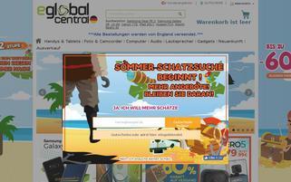 eGlobalCentral Webseiten Screenshot