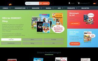 Ehapa Webseiten Screenshot