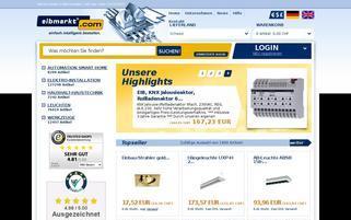 eibmarkt Schweiz Webseiten Screenshot