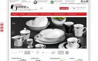 einfach-online.de Webseiten Screenshot