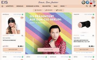 eis.de Webseiten Screenshot