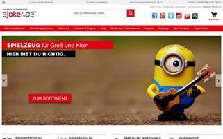 eJoker Webseiten Screenshot