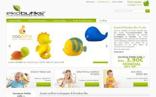 ekobutiks.com Webseiten Screenshot