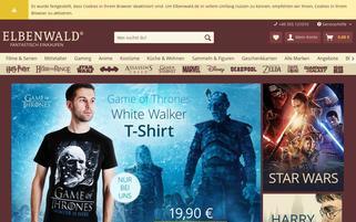 Elbenwald Webseiten Screenshot