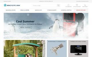 electronic-star.fr Webseiten Screenshot