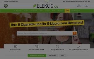 elekcig.de Webseiten Screenshot