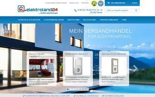 elektroland24 Webseiten Screenshot