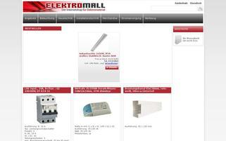 Elektromall Webseiten Screenshot
