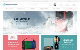 Elektronik Star Webseiten Screenshot