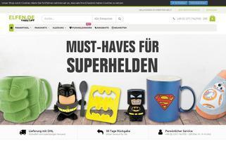 Elfen.de Webseiten Screenshot