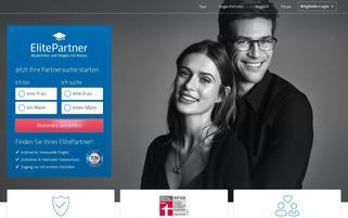 ElitePartner Webseiten Screenshot