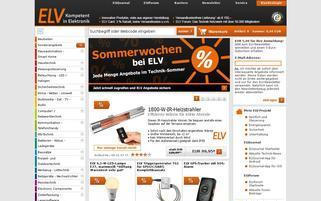 ELV.at Webseiten Screenshot