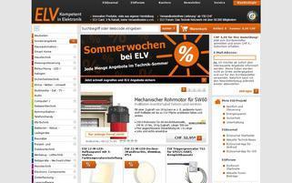 ELV.ch Webseiten Screenshot