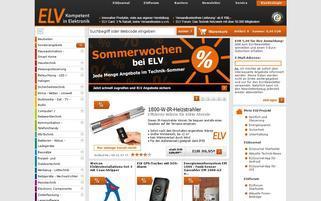 elv.de Webseiten Screenshot