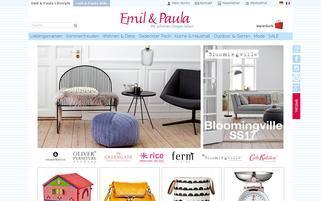 Emil und Paula Webseiten Screenshot