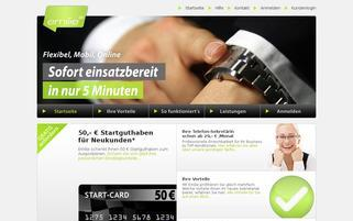 emilie.biz Webseiten Screenshot