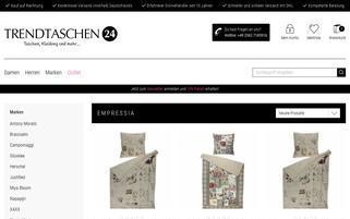 Empressia Webseiten Screenshot