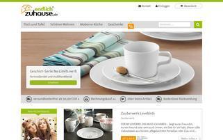 EndlichZuhause Webseiten Screenshot