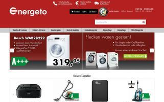 Energeto Webseiten Screenshot