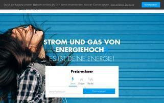 energiehoch3.de Webseiten Screenshot