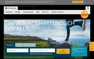 ENTEGA Webseiten Screenshot