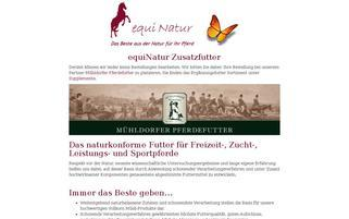 equinatur.de Webseiten Screenshot