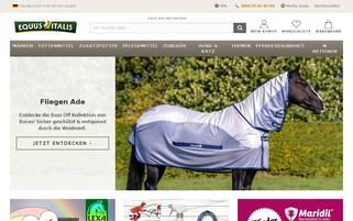 Equus Vitalis Webseiten Screenshot