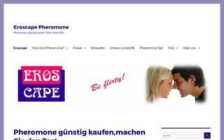 eroscape.de Webseiten Screenshot