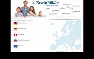 erwinmueller.com Webseiten Screenshot