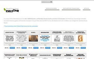 Eselsohr Webseiten Screenshot