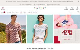 Esprit Webseiten Screenshot