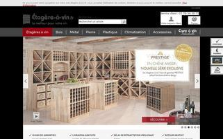 etagere-a-vin.fr Webseiten Screenshot