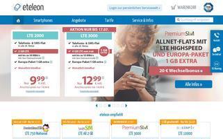 Eteleon Webseiten Screenshot