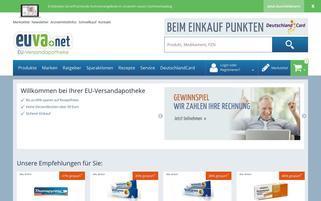 eu-versandapotheke.com Webseiten Screenshot