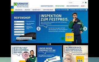 Euromaster Webseiten Screenshot