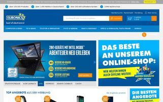 Euronics Webseiten Screenshot