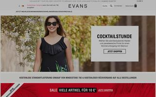 evans Webseiten Screenshot