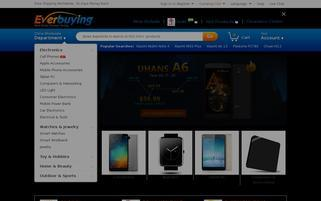 Everbuying Webseiten Screenshot
