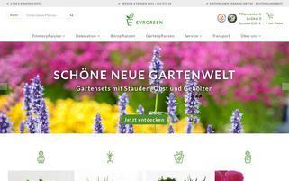 Evrgreen Webseiten Screenshot