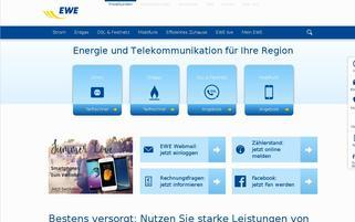 EWE Webseiten Screenshot